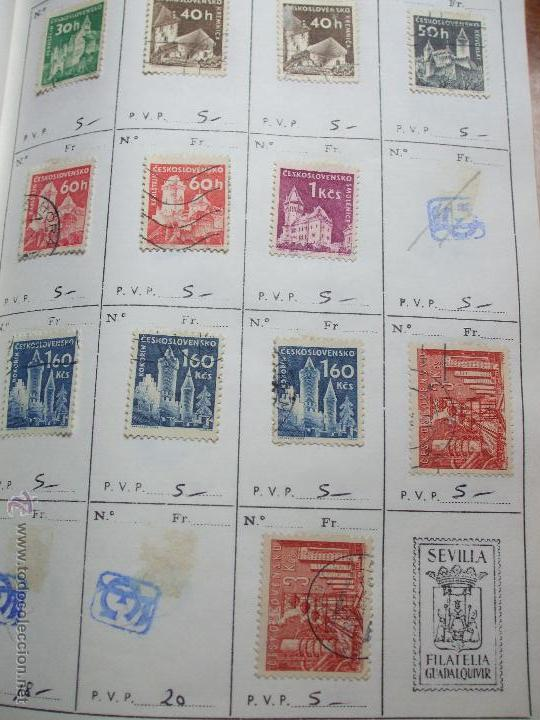 Sellos: .checoslovaquia 8 libretas aproximadamente 1020 sellos clasificados, diversas calidades + fotos - Foto 38 - 50673704