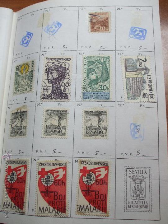 Sellos: .checoslovaquia 8 libretas aproximadamente 1020 sellos clasificados, diversas calidades + fotos - Foto 40 - 50673704