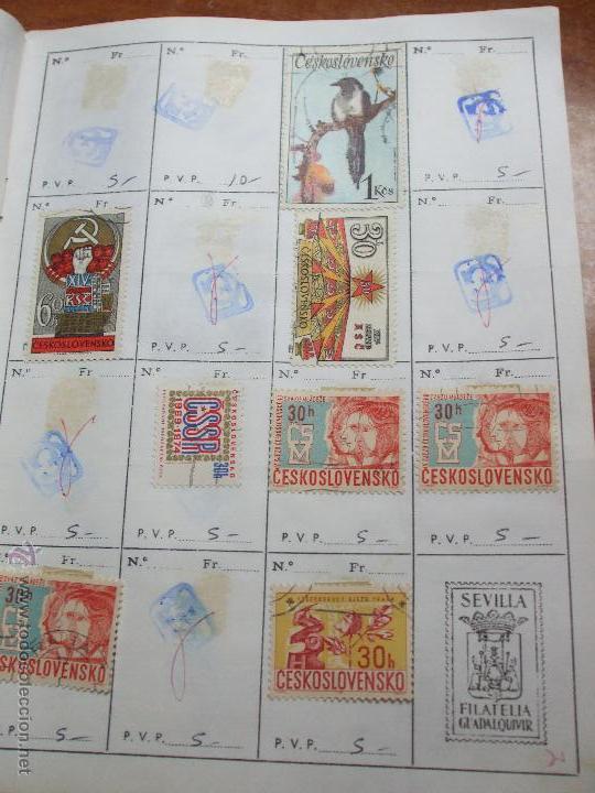 Sellos: .checoslovaquia 8 libretas aproximadamente 1020 sellos clasificados, diversas calidades + fotos - Foto 44 - 50673704