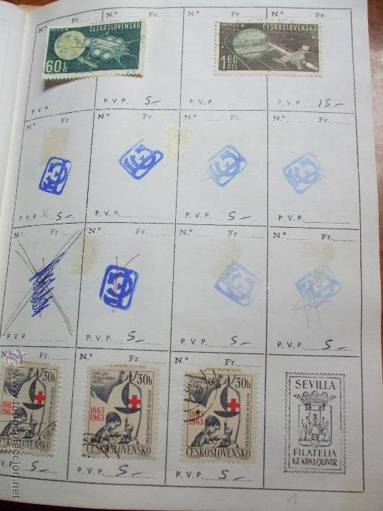 Sellos: .checoslovaquia 8 libretas aproximadamente 1020 sellos clasificados, diversas calidades + fotos - Foto 45 - 50673704