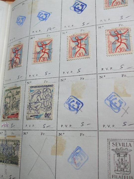 Sellos: .checoslovaquia 8 libretas aproximadamente 1020 sellos clasificados, diversas calidades + fotos - Foto 46 - 50673704