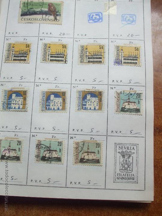 Sellos: .checoslovaquia 8 libretas aproximadamente 1020 sellos clasificados, diversas calidades + fotos - Foto 49 - 50673704