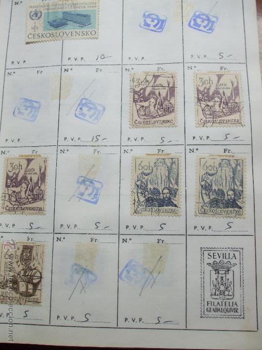 Sellos: .checoslovaquia 8 libretas aproximadamente 1020 sellos clasificados, diversas calidades + fotos - Foto 53 - 50673704