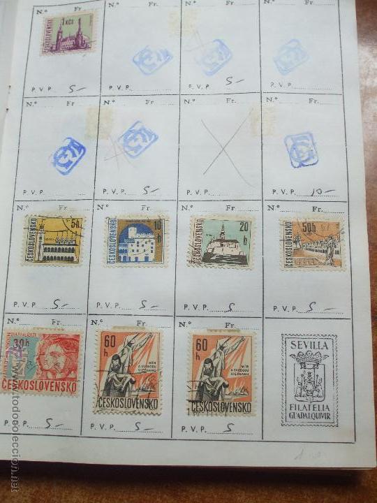 Sellos: .checoslovaquia 8 libretas aproximadamente 1020 sellos clasificados, diversas calidades + fotos - Foto 55 - 50673704