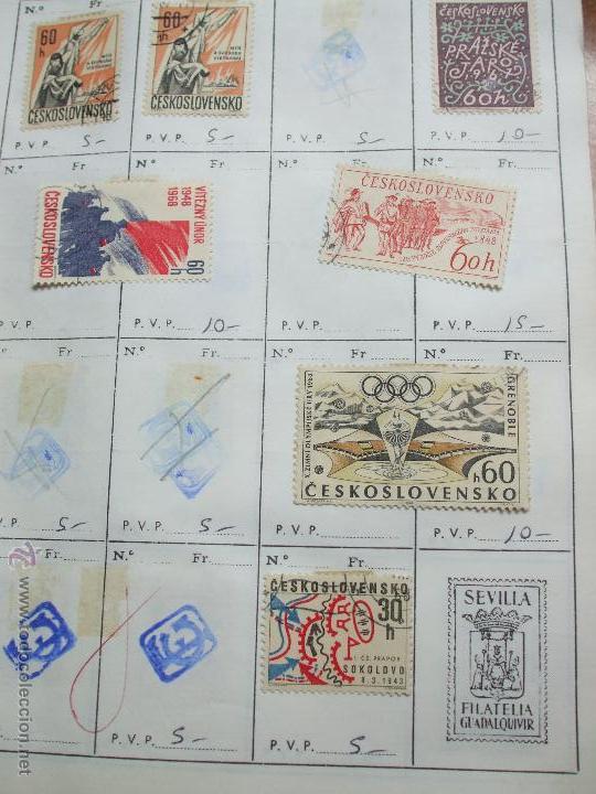 Sellos: .checoslovaquia 8 libretas aproximadamente 1020 sellos clasificados, diversas calidades + fotos - Foto 56 - 50673704