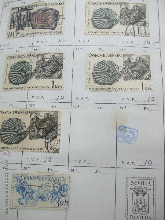 Sellos: .checoslovaquia 8 libretas aproximadamente 1020 sellos clasificados, diversas calidades + fotos - Foto 59 - 50673704