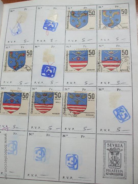 Sellos: .checoslovaquia 8 libretas aproximadamente 1020 sellos clasificados, diversas calidades + fotos - Foto 66 - 50673704