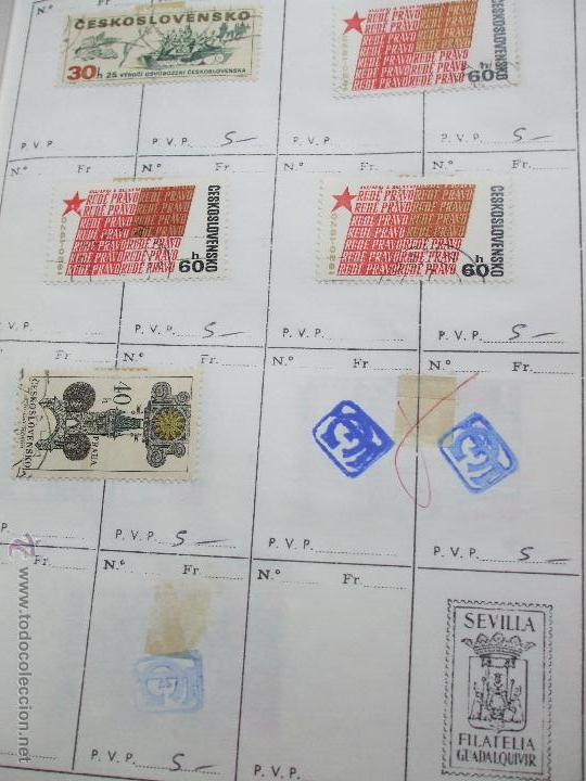 Sellos: .checoslovaquia 8 libretas aproximadamente 1020 sellos clasificados, diversas calidades + fotos - Foto 70 - 50673704