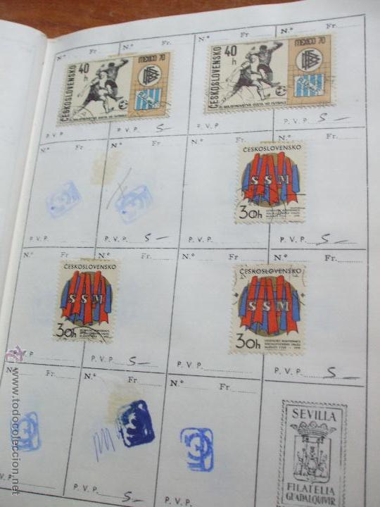 Sellos: .checoslovaquia 8 libretas aproximadamente 1020 sellos clasificados, diversas calidades + fotos - Foto 72 - 50673704