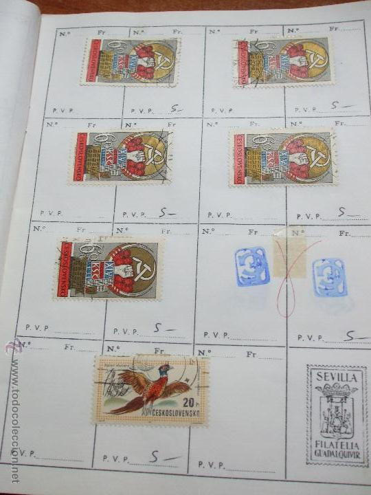Sellos: .checoslovaquia 8 libretas aproximadamente 1020 sellos clasificados, diversas calidades + fotos - Foto 79 - 50673704