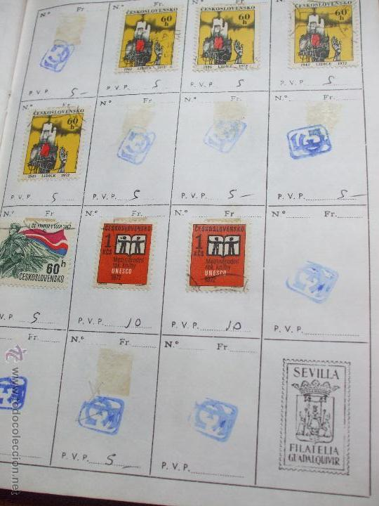 Sellos: .checoslovaquia 8 libretas aproximadamente 1020 sellos clasificados, diversas calidades + fotos - Foto 83 - 50673704