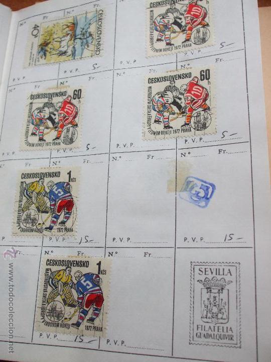 Sellos: .checoslovaquia 8 libretas aproximadamente 1020 sellos clasificados, diversas calidades + fotos - Foto 84 - 50673704