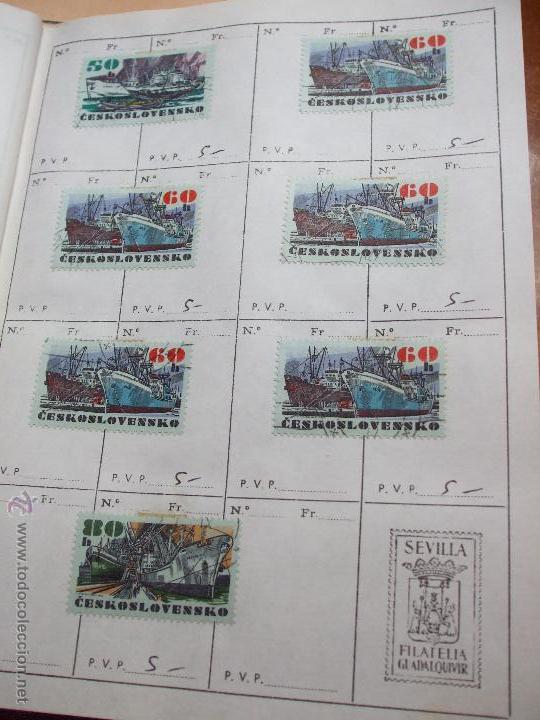 Sellos: .checoslovaquia 8 libretas aproximadamente 1020 sellos clasificados, diversas calidades + fotos - Foto 90 - 50673704