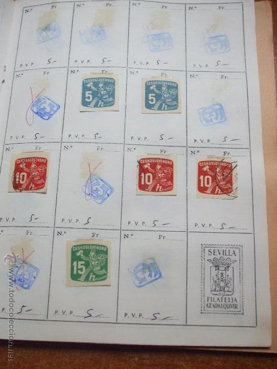 Sellos: .checoslovaquia 8 libretas aproximadamente 1020 sellos clasificados, diversas calidades + fotos - Foto 97 - 50673704