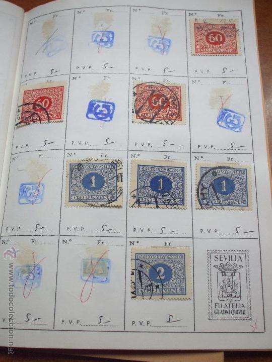 Sellos: .checoslovaquia 8 libretas aproximadamente 1020 sellos clasificados, diversas calidades + fotos - Foto 101 - 50673704