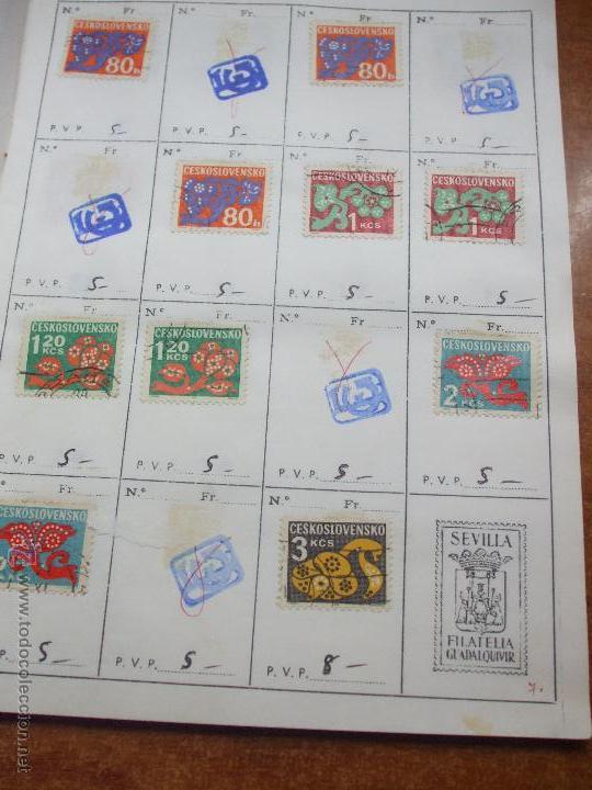 Sellos: .checoslovaquia 8 libretas aproximadamente 1020 sellos clasificados, diversas calidades + fotos - Foto 107 - 50673704