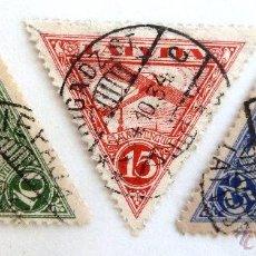 Sellos: SELLOS LETONIA 1931. USADOS. AVIONES.. Lote 50955705