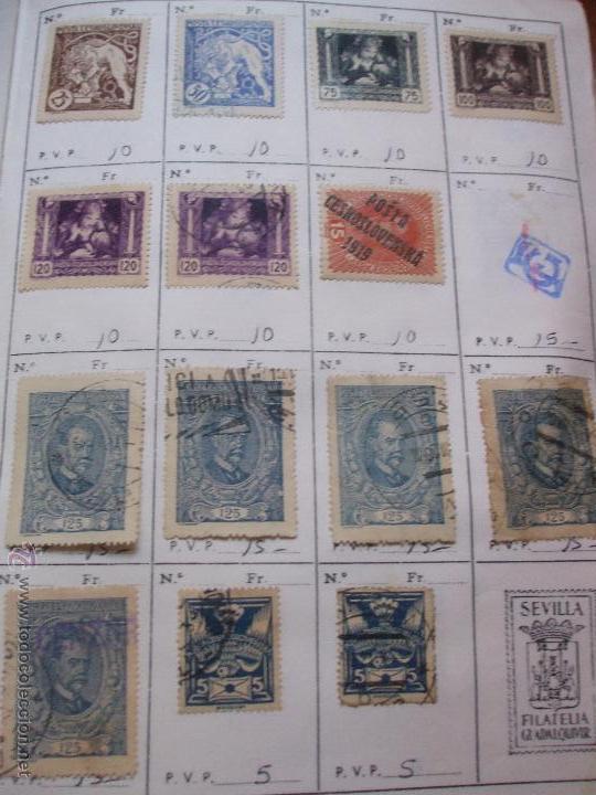 Sellos: .checoslovaquia 8 libretas aproximadamente 1540 sellos clasificados, diversas calidades + fotos - Foto 9 - 51002279