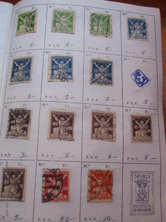 Sellos: .checoslovaquia 8 libretas aproximadamente 1540 sellos clasificados, diversas calidades + fotos - Foto 13 - 51002279