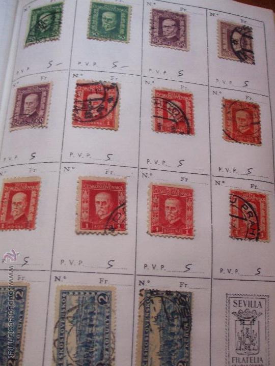 Sellos: .checoslovaquia 8 libretas aproximadamente 1540 sellos clasificados, diversas calidades + fotos - Foto 18 - 51002279