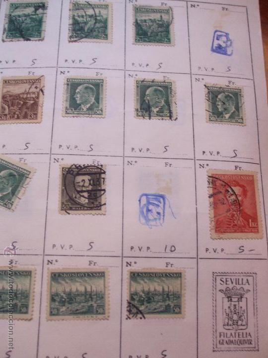 Sellos: .checoslovaquia 8 libretas aproximadamente 1540 sellos clasificados, diversas calidades + fotos - Foto 29 - 51002279