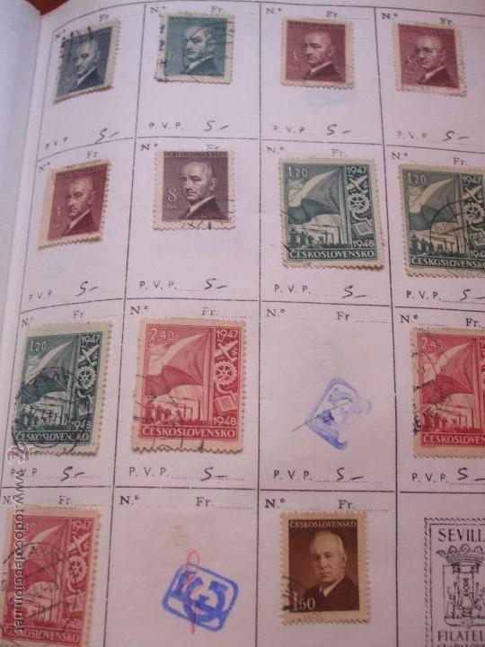 Sellos: .checoslovaquia 8 libretas aproximadamente 1540 sellos clasificados, diversas calidades + fotos - Foto 35 - 51002279