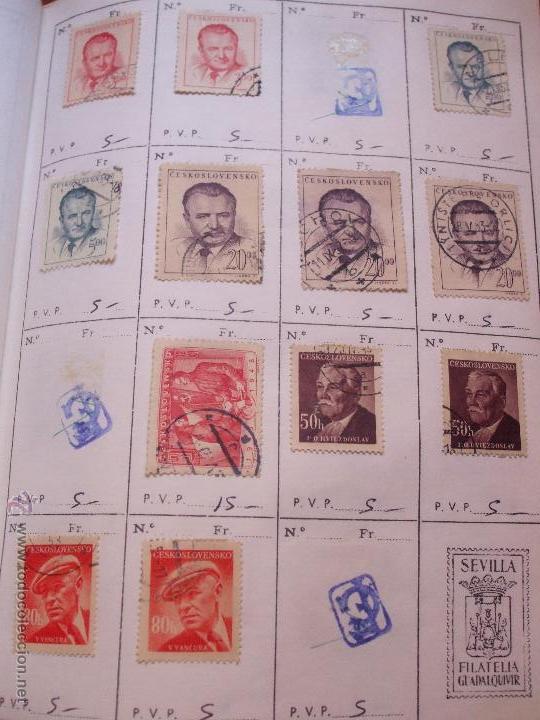 Sellos: .checoslovaquia 8 libretas aproximadamente 1540 sellos clasificados, diversas calidades + fotos - Foto 37 - 51002279