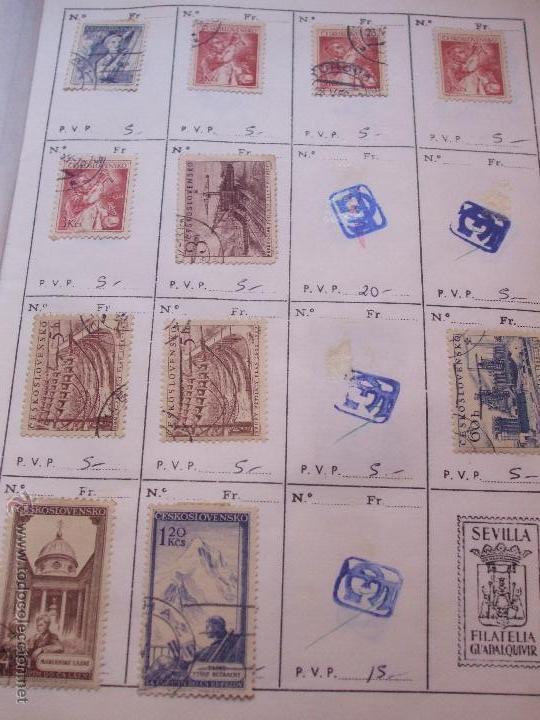 Sellos: .checoslovaquia 8 libretas aproximadamente 1540 sellos clasificados, diversas calidades + fotos - Foto 43 - 51002279