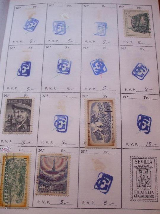 Sellos: .checoslovaquia 8 libretas aproximadamente 1540 sellos clasificados, diversas calidades + fotos - Foto 44 - 51002279