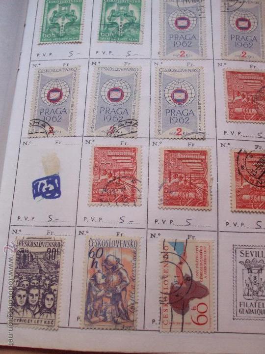 Sellos: .checoslovaquia 8 libretas aproximadamente 1540 sellos clasificados, diversas calidades + fotos - Foto 50 - 51002279