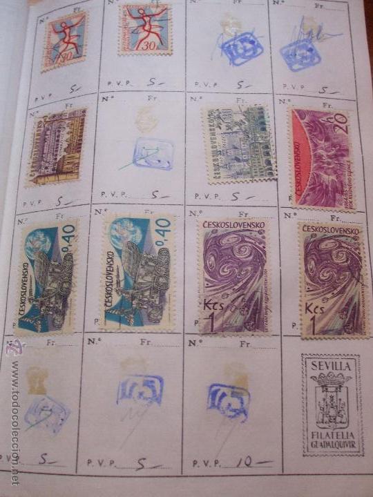 Sellos: .checoslovaquia 8 libretas aproximadamente 1540 sellos clasificados, diversas calidades + fotos - Foto 57 - 51002279