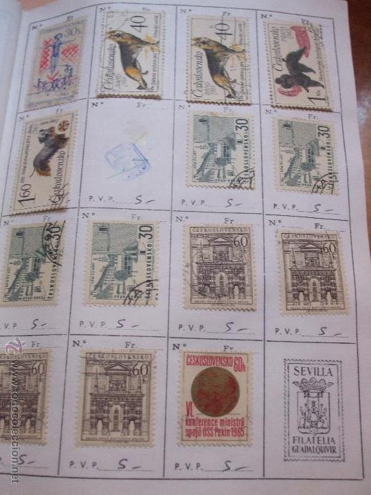 Sellos: .checoslovaquia 8 libretas aproximadamente 1540 sellos clasificados, diversas calidades + fotos - Foto 58 - 51002279