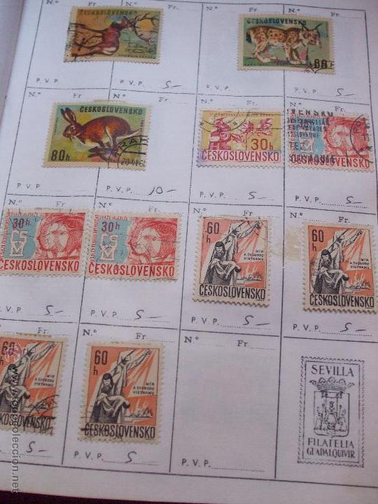 Sellos: .checoslovaquia 8 libretas aproximadamente 1540 sellos clasificados, diversas calidades + fotos - Foto 66 - 51002279
