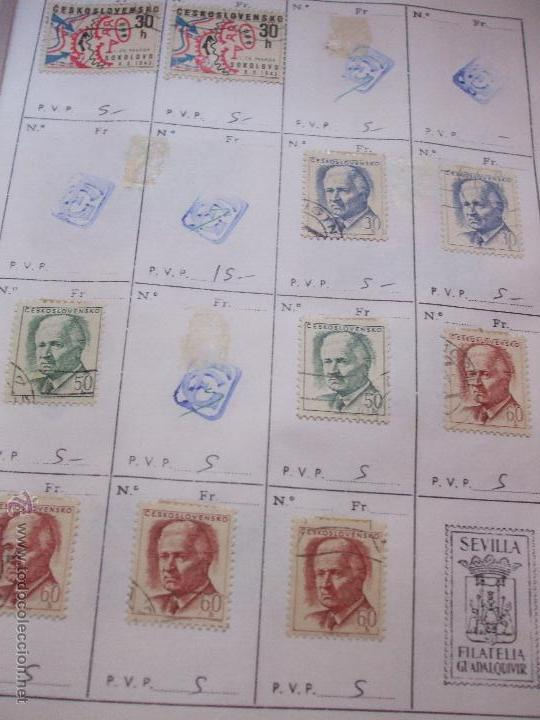 Sellos: .checoslovaquia 8 libretas aproximadamente 1540 sellos clasificados, diversas calidades + fotos - Foto 68 - 51002279
