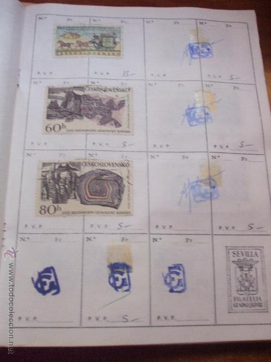 Sellos: .checoslovaquia 8 libretas aproximadamente 1540 sellos clasificados, diversas calidades + fotos - Foto 70 - 51002279