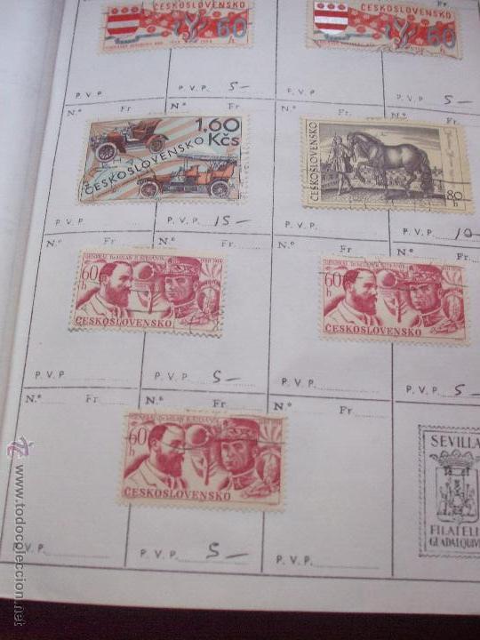 Sellos: .checoslovaquia 8 libretas aproximadamente 1540 sellos clasificados, diversas calidades + fotos - Foto 79 - 51002279