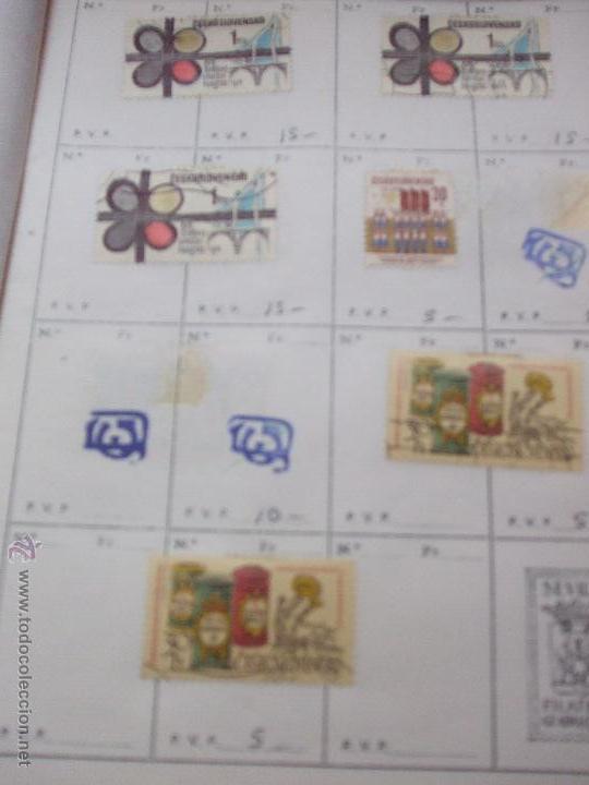 Sellos: .checoslovaquia 8 libretas aproximadamente 1540 sellos clasificados, diversas calidades + fotos - Foto 102 - 51002279
