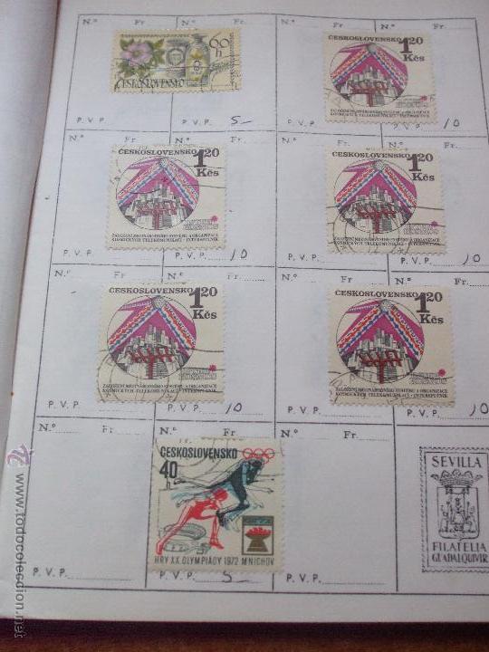 Sellos: .checoslovaquia 8 libretas aproximadamente 1540 sellos clasificados, diversas calidades + fotos - Foto 104 - 51002279