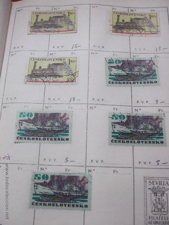 Sellos: .checoslovaquia 8 libretas aproximadamente 1540 sellos clasificados, diversas calidades + fotos - Foto 114 - 51002279