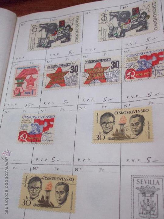 Sellos: .checoslovaquia 8 libretas aproximadamente 1540 sellos clasificados, diversas calidades + fotos - Foto 118 - 51002279