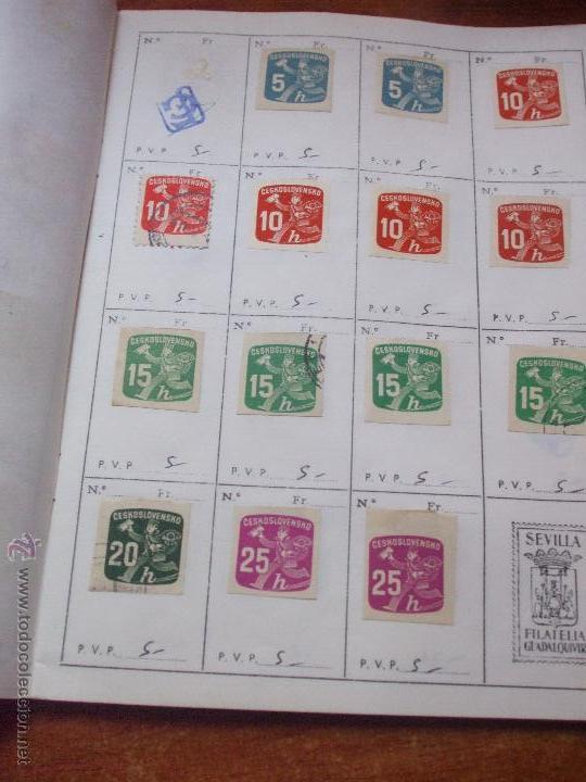 Sellos: .checoslovaquia 8 libretas aproximadamente 1540 sellos clasificados, diversas calidades + fotos - Foto 125 - 51002279