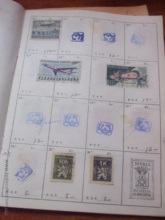 Sellos: .checoslovaquia 8 libretas aproximadamente 1540 sellos clasificados, diversas calidades + fotos - Foto 127 - 51002279