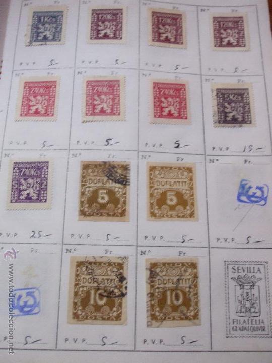 Sellos: .checoslovaquia 8 libretas aproximadamente 1540 sellos clasificados, diversas calidades + fotos - Foto 129 - 51002279