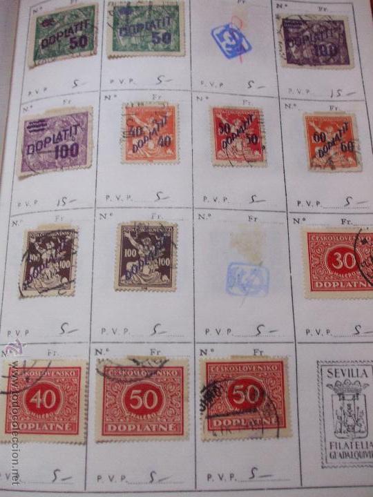 Sellos: .checoslovaquia 8 libretas aproximadamente 1540 sellos clasificados, diversas calidades + fotos - Foto 133 - 51002279