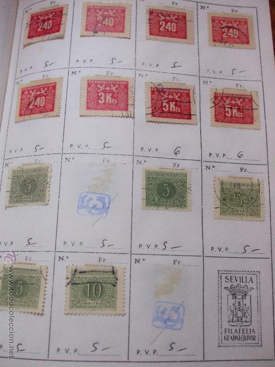 Sellos: .checoslovaquia 8 libretas aproximadamente 1540 sellos clasificados, diversas calidades + fotos - Foto 136 - 51002279