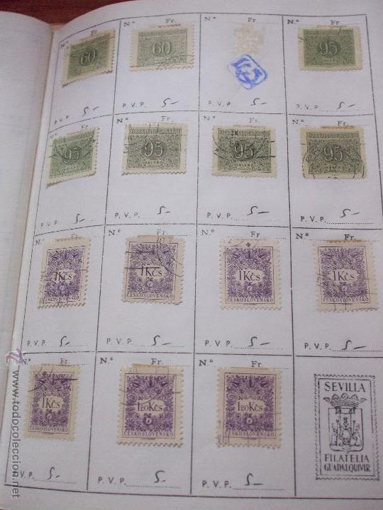 Sellos: .checoslovaquia 8 libretas aproximadamente 1540 sellos clasificados, diversas calidades + fotos - Foto 138 - 51002279
