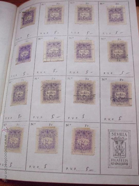 Sellos: .checoslovaquia 8 libretas aproximadamente 1540 sellos clasificados, diversas calidades + fotos - Foto 139 - 51002279