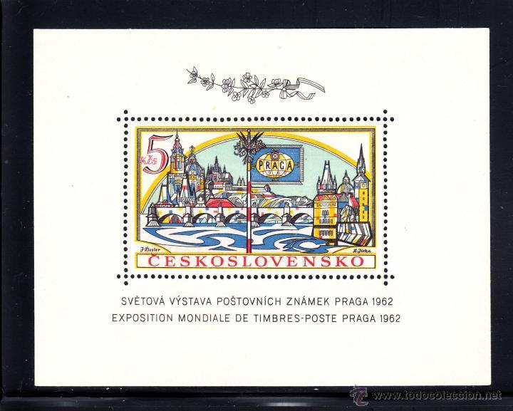 CHECOSLOVAQUIA HB 21** - AÑO 1962 - EXPOSICIÓN FILATÉLICA DE PRAGA (Sellos - Extranjero - Europa - Otros paises)