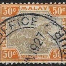 Sellos: MALASIA YVERT Nº 22 USADO. Lote 52305186