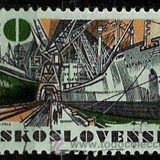Sellos: CHECOSLOVAQUIA 1972- YV 1937. Lote 53040875